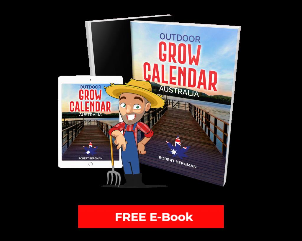 Outdoor grow calendar in Australia